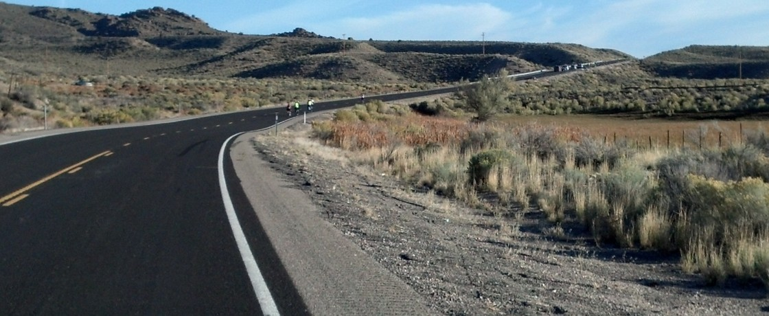 Park to Park Pedal Road Cycling Ride in Lincoln County, Nevada