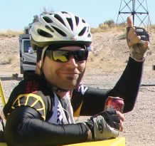 p2p-rider-at-aid-station-thumbs-up-2015